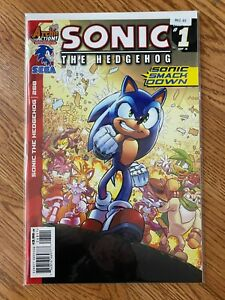 Sonic The Hedgehog 268 1 of 4 - High Grade Comic Book -B61-30