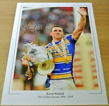 Kevin Sinfield SIGNED 16x12 Photo Autograph Leeds Rhinos Rugby league PROOF COA