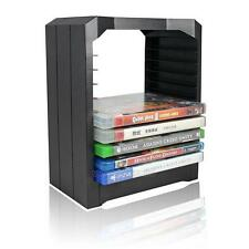 Multifunctional Games Blu Ray Discs Storage Stand Tower for Xbox One PS4 Black