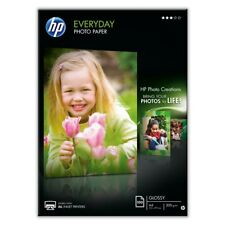 10 x A4 HP GLOSSY PHOTO PAPER 200GSM WHITE PREMIUM HP EVERYDAY CHEAP INKJET