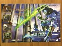 Soul Reaver 2 PS2 Playstation 2 2001 Vintage Print Ad/Poster Official Authentic