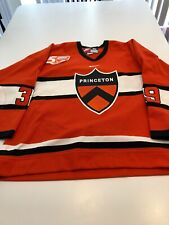 Game Worn Used Princeton Tigers Hockey Jersey Size 56 #39 Rob Kleebaum