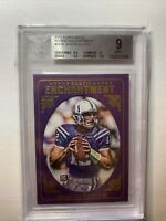 ANDREW LUCK 2012 TOPPS MAGIC ROOKIE ENCHANTMENT RC COLTS BGS 9 MINT w/ 2 9.5