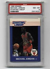 1988 Kenner Starting Lineup Michael Jordan Chicago Bulls PSA 8