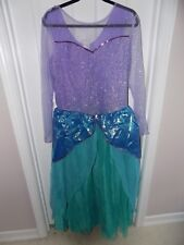 Disney Store Little Mermaid Ariel Adult Costume Size XL X-Large Womens 12-14 NWT