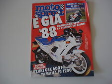 MOTOSPRINT 42/1987 YAMAHA FZ 400 e 600/PIAGGIO SI CIAO/SUPERBRAVO SUPER BRAVO 3