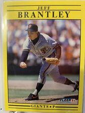 Jeff Brantley Fleer 1991 Base Card #255