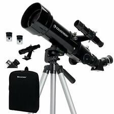 Celestron - 70mm Travel Scope - Portable Refractor Telescope - Fully-Coated
