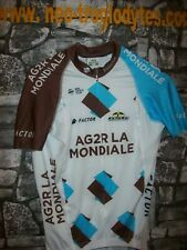 Vintage Cycling jersey shirt '90s pro AG 2R maglia bici ciclismo