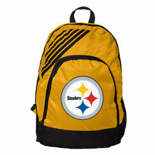 Pittsburgh Steelers BackPack Back Pack Book Sports Gym School Bag Border Stripe