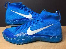 Mens Nike Alpha Sensory Football Turf Shoes Blue 854312-404 Size 11