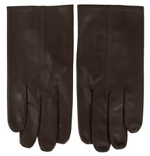 John Lobb Handmade Luxury Twinstitch Gloves Brown BNWT Size 8