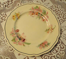 VINTAGE ROYAL DOULTON 1930s ORCHID D 5215- 26.5CM DINNER PLATE GC I WILL POST