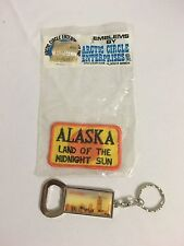 Alaskan Vintage Patch - Land Of The Midnight Sun