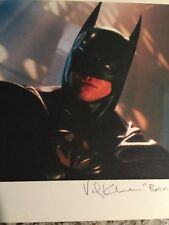 Val Kilmer Batman 11.5 X15 Inch SIGNED PHOTO Autograph GA COA