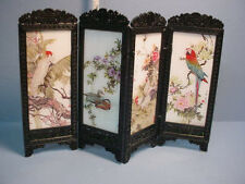 Dollhouse Miniature Privacy Screen  - Birds/Fowl #S8132