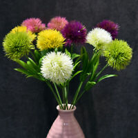 Artificial Flowers Real Touch Dandelion Fake Plants Plastic Flowers Home Decor