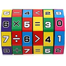 Children Education Math Puzzle Cube Play Number Table Game Kids Spell Answer Toy