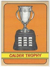 1972-73 TOPPS HOCKEY #174 CALDER TROPHY - VG/VG+