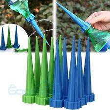 12Pcs Garden Cone Watering Spike Plant Flower Waterers Bottle Irrigation US Ship