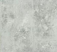 P.S Origin 42100-40 Tapete Vlies Beton Optik hellgrau metallic (2,42€/1qm)