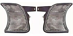 BMW E34 5-series Corner Lights Turn Signal CLEAR 89-95