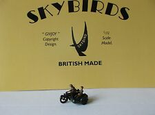 Skybirds Models. British Army Motorcycle And Sidecar
