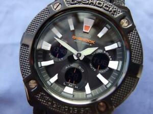 CASIO G-SHOCK G-STEEL GST-W130BC-1AJF Ana-Digi Solar Black Dial Watch #2