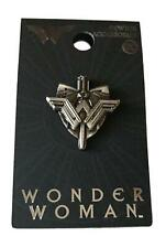 Wonder Woman Pin Pewter Sword and Shield Design Cosplay Costume Pin
