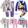 Baby Kids Boys Girls 2pcs Cartoon Sleepwear Nightwear Pj's Pyjamas Pajamas Set
