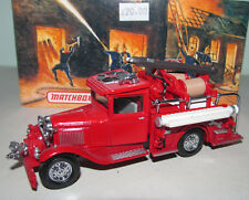 MATCHBOX MODELS OF YESTERYEAR YFE06 1932 FORD AA FIRE TRUCK