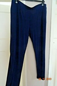 LAVITTA CLASSIC NAVY JERSEY   PULL ON  TROUSERS SIZE 20  RRP £28