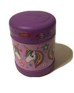 NEW 🌈 🦄 Unicorn Thermos® FUNtainer 10 Oz. Stainless Steel Insulated Food Jar