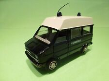 OLD-CARS IVECO DAILY - CARABINIERI - BLUE 1:43 - GOOD CONDITION