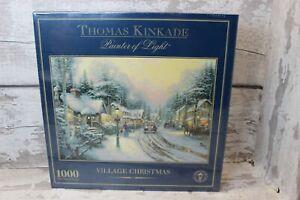 Thomas Kincade  Painter of Light - Village Christmas - 1000 Piece Jigsaw - NEW !