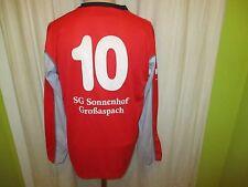 SG Sonnenhof Großasbach uhlsport Matchworn Trikot + Nr.10 + Handsigniert Gr.L