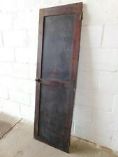 1910's Antique Cabinet Door Butler Pantry Craftsman Style Two Panel Fir Ornate