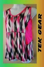 WOMEN'S PLUS SIZE 1X 16W TEK GEAR DRY TEK NEON ATHLETIC TANK TOP -  CLOTHING NEW
