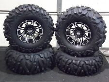"CAN AM RENEGADE 500,570 27"" QUADKING ATV TIRE & STI HD3 M WHEEL KIT CAN1CA"