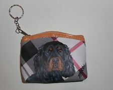 Gordon Setter Dog Coin Purse With Key chain Wallet for Women