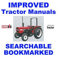IH Case 385, 385L, 485, 485XL, 585, 585XL, 685, 685XL Tractors Operators Manual