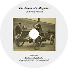 29 Issues on CD, The Automobile Magazine, Vehicles Automotive Cars History