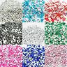 1000 Pointed Back Rhinestone Acrylic Crystal Diamante Silver Tip Gem Craft Bead