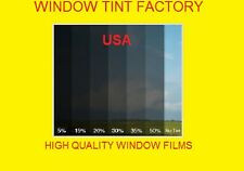 "5%  Charcoal black Limo 24"" x50' Window Tint Film HP 2Ply Made in USA INTERSOLAR"