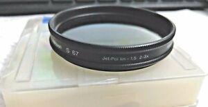 Heliopan 67mm Polarizer Glass Lens Filter Germany ES67 MFR # 706739 67 mm