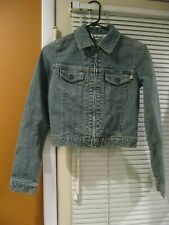 Plugg Denim Jean Jacket  Size XS Women's
