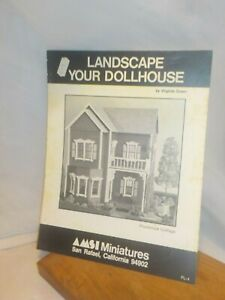 Vintage 1979 Landscape Your Dollhouse by Virginia Green for Plumbrook Cottage