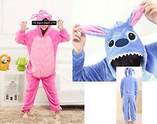 Stitch - Vestiti Carnevale Kigurumi  Dress up Fleece Onesie KIGU001
