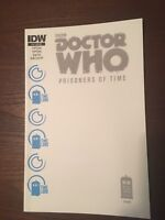 Doctor Who Prisoners of Time #11 Blank Jetpack Comics Exclusive IDW Ltd. to 500