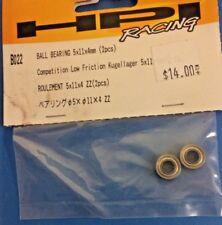 HPI Part #B022 BALL BEARING 5x11x4mm (2pcs) for the Wheely King/ Jumpshot/Blitz